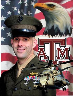 Aggie Major Poster by Ken Pridgeon