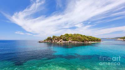 Agia Paraskevi Beach, Sivota Greece Poster by Slavica Stajic
