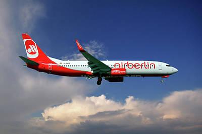 Air Berlin Boeing 737-800 Poster