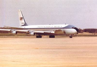 Air Force One At Andrews Air Force Base Poster