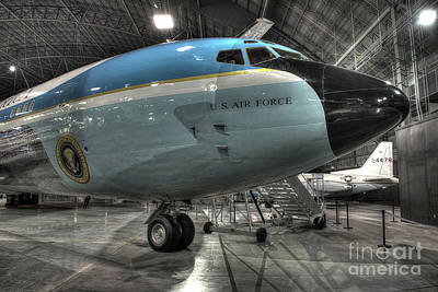 Air Force One - Boeing Vc-137c Sam 26000 Poster