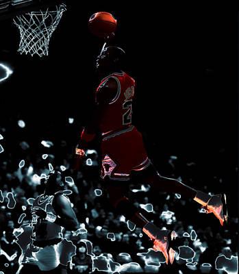 Air Jordan 03t Poster by Brian Reaves