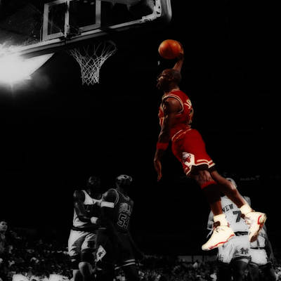 Air Jordan Glide Poster by Brian Reaves