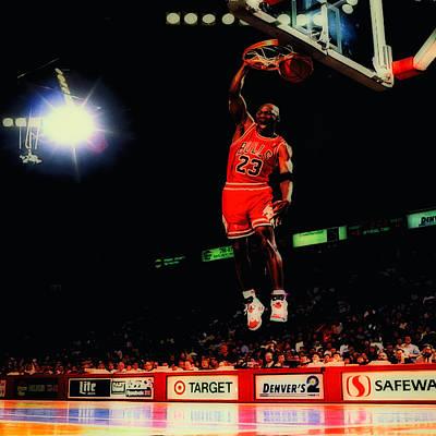 Air Jordan Nasty Slam Poster