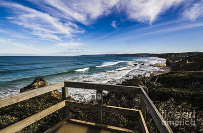 Aireys Inlet Lookout Poster by Jorgo Photography - Wall Art Gallery