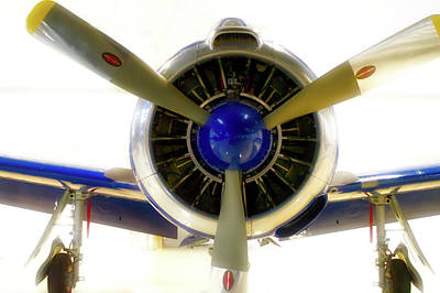 Airplane Propeller And Engine T28 Trojan 01 Poster