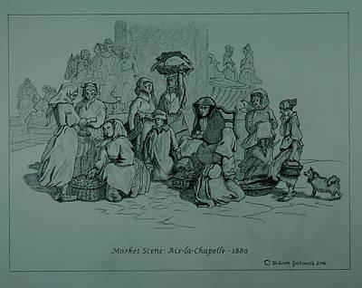 Aix-en-chapelle Poster