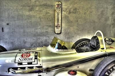 Aj Foyt 1961 Roadster Poster