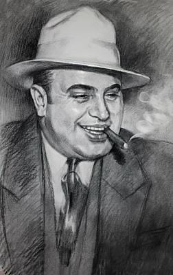 Al Capone  Poster by Ylli Haruni