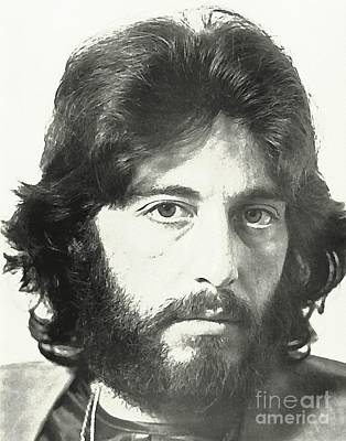 Al Pacino Actor Poster by John Malone