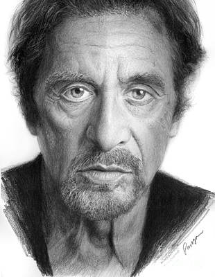 Al Pacino Poster by Christopher Panza