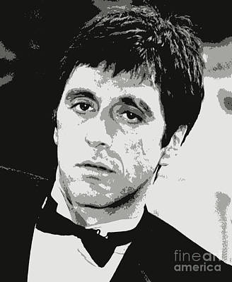 Al Pacino Graphic Design Poster by Pd
