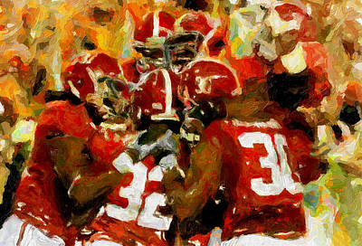 Alabama Celebrate Poster by John Farr