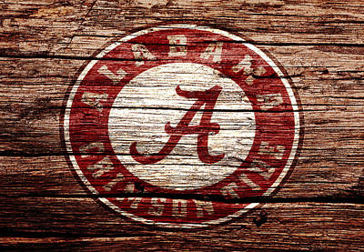 Alabama Crimson Tide 1a Poster by Brian Reaves