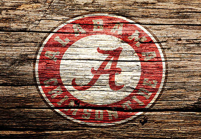 Alabama Crimson Tide Poster by Brian Reaves