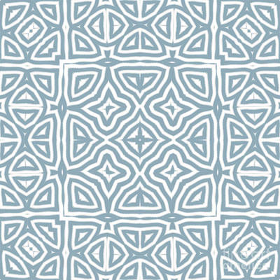 Alahambra Blue Poster by Mindy Sommers