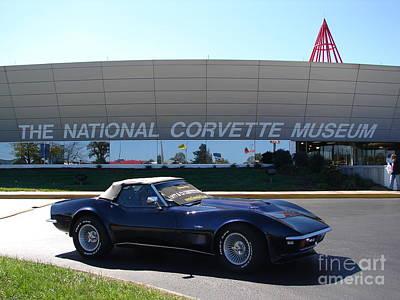 Alans 1968 Corvette Poster by Jack Moskovita