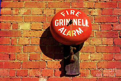 Poster featuring the photograph Alarm Bell by Stephen Mitchell