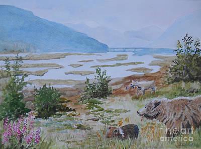 Alaska - Denali 2 Poster