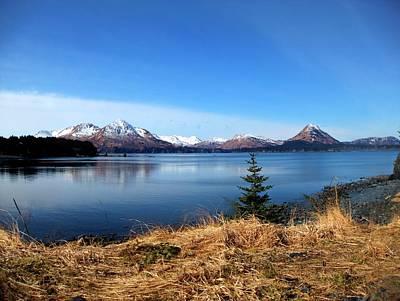 Alaska Lake Poster