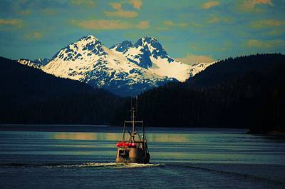 Alaskan Cruise Poster by Helen Carson