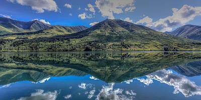 Alaskan Reflections Poster