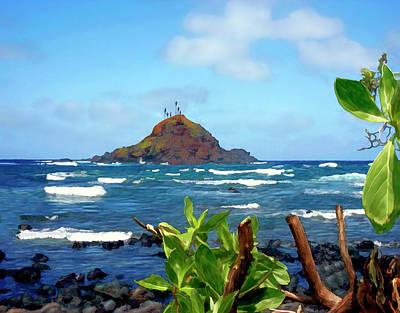 Alau Island Maui Hawaii Poster by Kurt Van Wagner