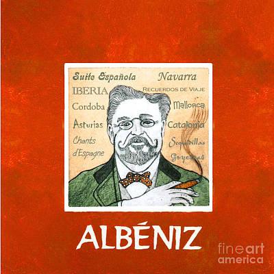 Albeniz Portrait Poster