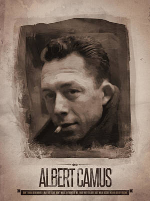Albert Camus 02 Poster