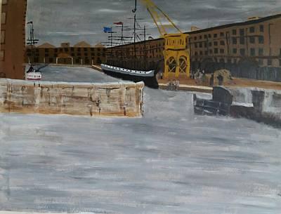 Albert Dock Liverpool Poster