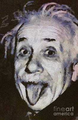 Albert Einstein, Scientist Poster