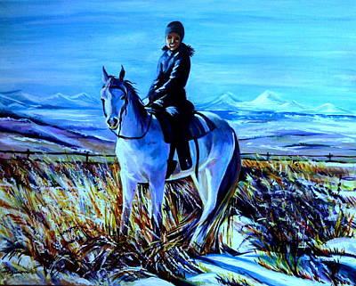 Alberta Winter Poster