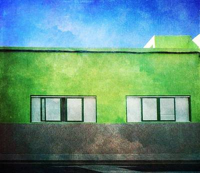 Poster featuring the photograph Alcala Green House No1 by Anne Kotan