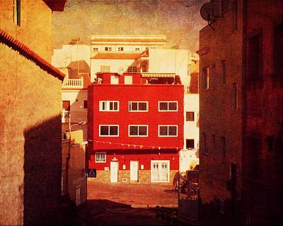 Poster featuring the photograph Alcala Red House No1 by Anne Kotan
