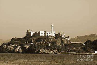 Alcatraz Poster by Denise Pohl