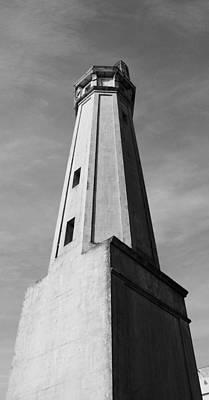 Alcatraz Lighthouse Poster