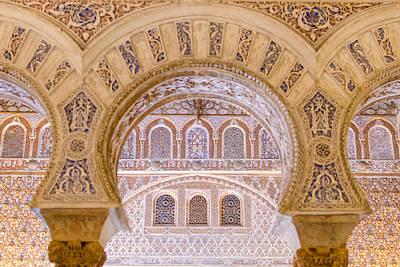 Alcazar Of Seville - Unique Architecture Poster