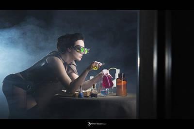 Alchemy Poster by Anton Tokarev