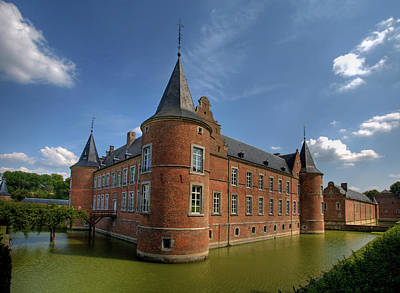 Alden Biesen Castle Belgium Poster by AuthorFrancisco Conde Sanchez