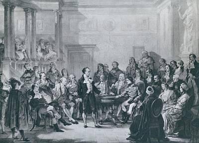 Alessandro Volta 1745-1827 Poster by Everett