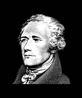 Alexander Hamilton - Founding Father Graphic  Poster by War Is Hell Store
