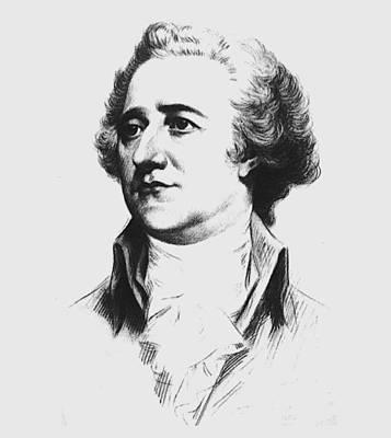 Alexander Hamilton Poster by Otis Porritt