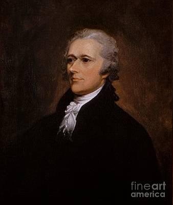 Alexander Hamilton Portrait Poster by John Trumbull