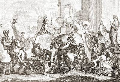 Alexander The Great Enters Babylon In Poster