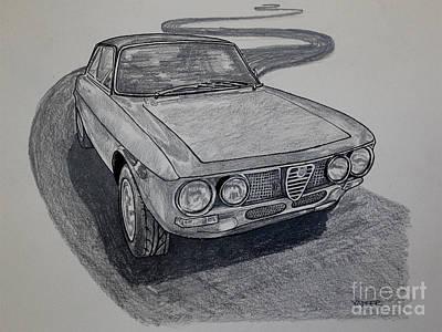 Alfa Romeo Gtv  Poster by Robert Yaeger