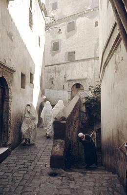 Algiers Casbah Poster by Erik Falkensteen