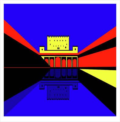 Alhambra Granada Poster by Asbjorn Lonvig
