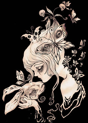 .alice Dreaming. Poster by Megan Darrough