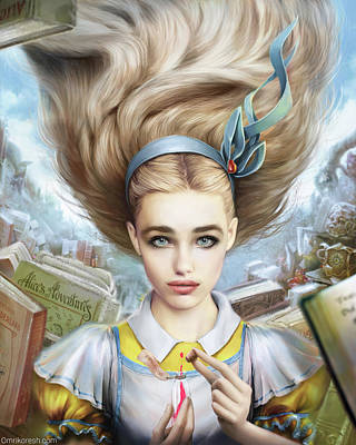 Alice Poster by Omri Koresh