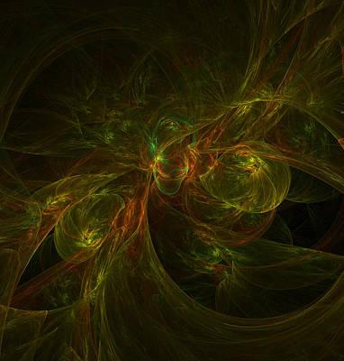 Alien Brain By Raphael Terra Poster by Raphael Terra
